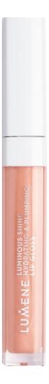 Купить Увлажняющий блеск для губ придающий объем и сияние Luminous Shine Hydrating & Plumping Lip Gloss 5мл: No 12, Увлажняющий блеск для губ придающий объем и сияние Luminous Shine Hydrating & Plumping Lip Gloss 5мл, Lumene
