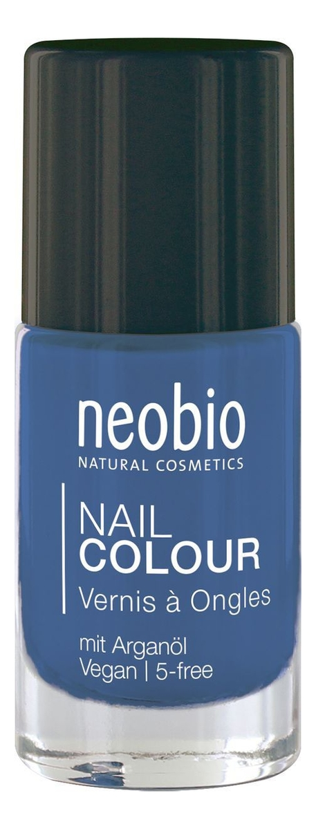 Лак для ногтей Nail Colour 8мл: 08 Сияющий синий глотова в худ английский для малышей буква за буквой 250 наклеек