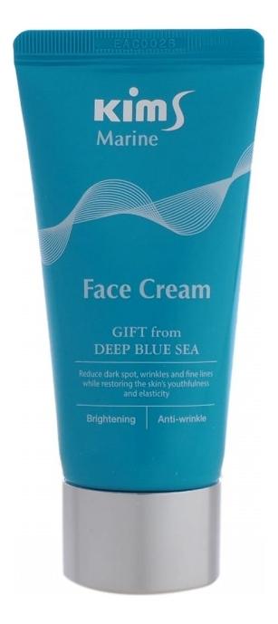 Фото - Антивозрастной крем для лица Marine Face Cream 50мл массажер kims easy self face белый