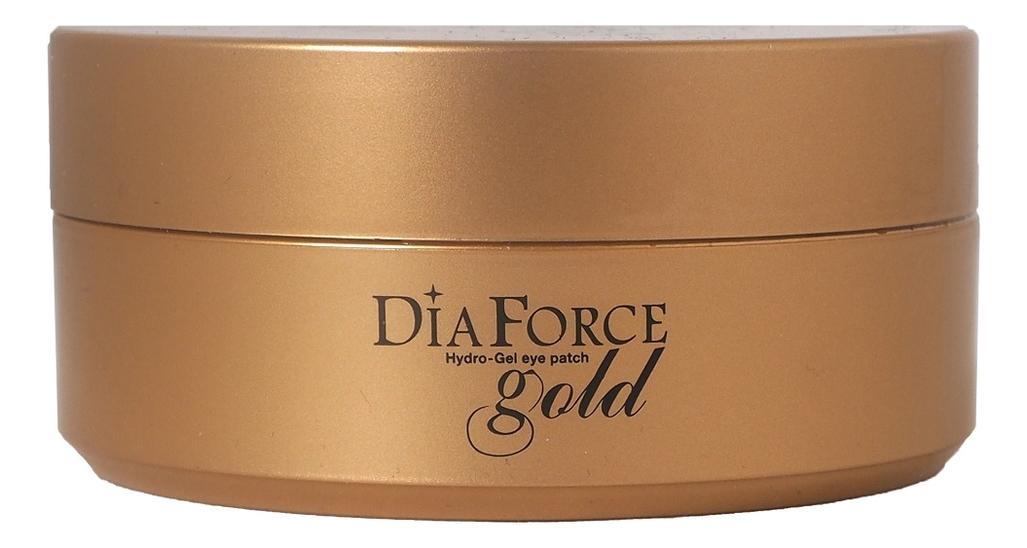 Гидрогелевые патчи для кожи вокруг глаз Dia Force Gold Hydro-Gel Eye Patch 60шт