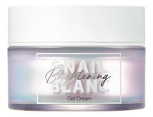 It's Skin Гель-крем для лица с муцином улитки Snail Blanc Brightening Gel Cream 50мл
