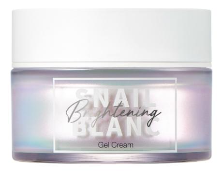Гель-крем для лица с муцином улитки Snail Blanc Brightening Gel Cream 50мл гель крем для лица alpha homme genwood hydro 50мл