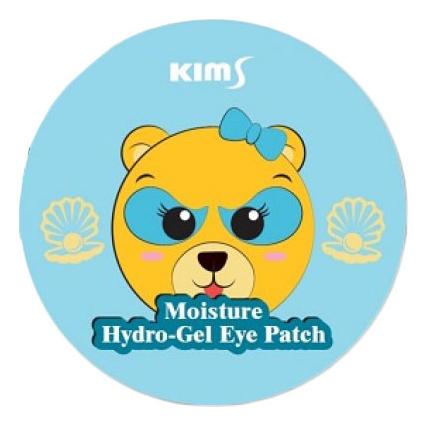 Купить Гидрогелевые увлажняющие патчи для кожи вокруг глаз Moisture Hydro-Gel Eye Patch 60шт, Kims Cosmetics