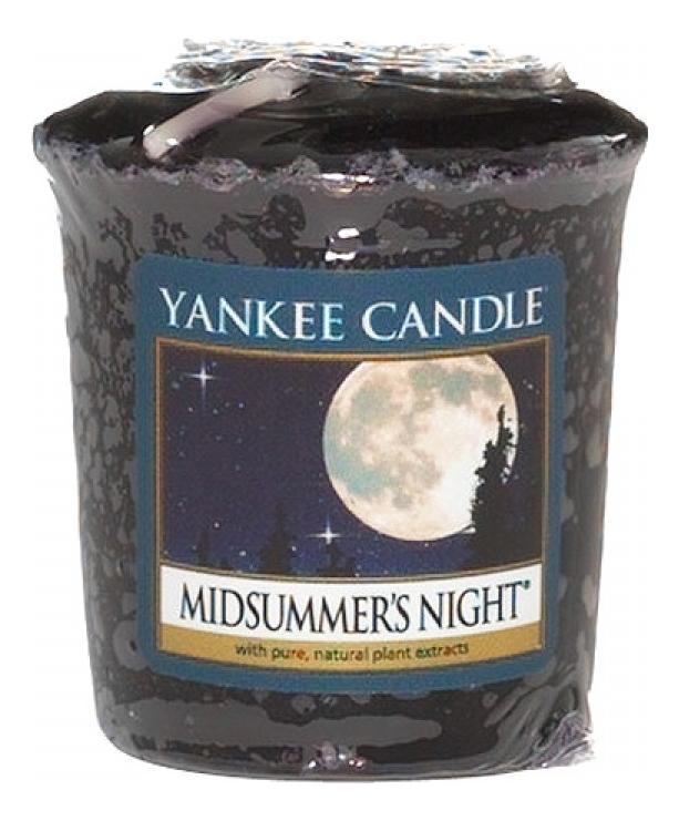Купить Ароматическая свеча Midsummer's Night: Свеча 49г, Yankee Candle