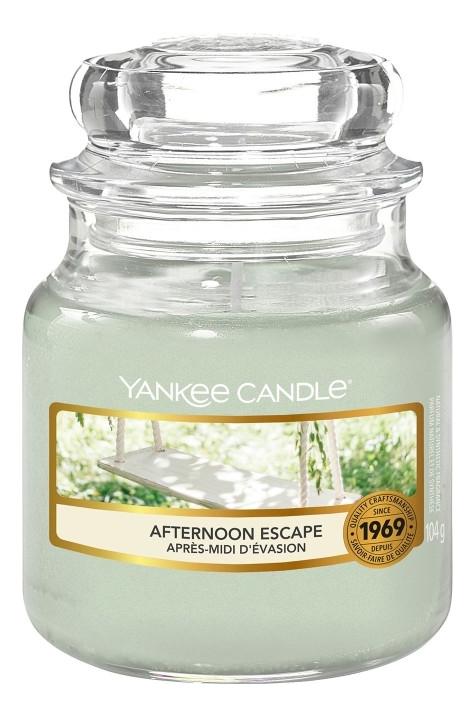 Ароматическая свеча Afternoon Escape: Свеча 104г ароматическая свеча vibrant saffron свеча 104г