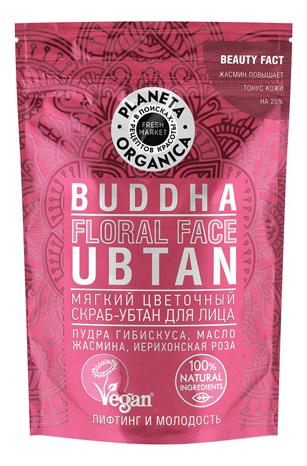 Купить Мягкий цветочный скраб-убтан для лица Buddha Floral Face Ubtan 100г, Planeta Organica