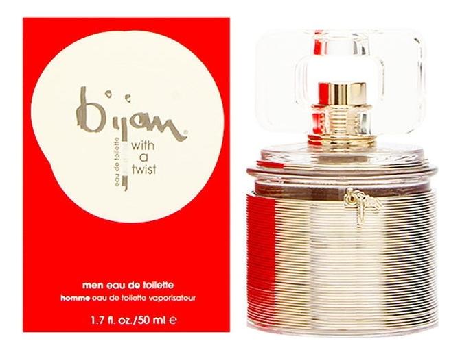 Bijan With a Twist For Men: туалетная вода 50мл