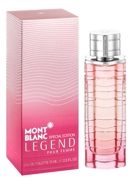 Mont Blanc Legend Pour Femme Special Edition 2014: туалетная вода 75мл mont blanc legend spirit туалетная вода 50мл