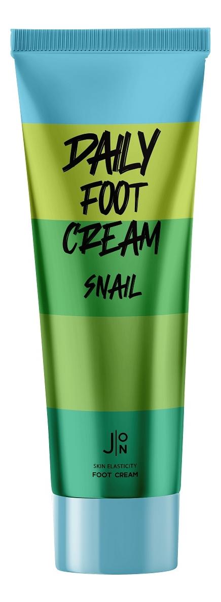 Крем для ног с муцином улитки Daily Snail Foot Cream 100мл