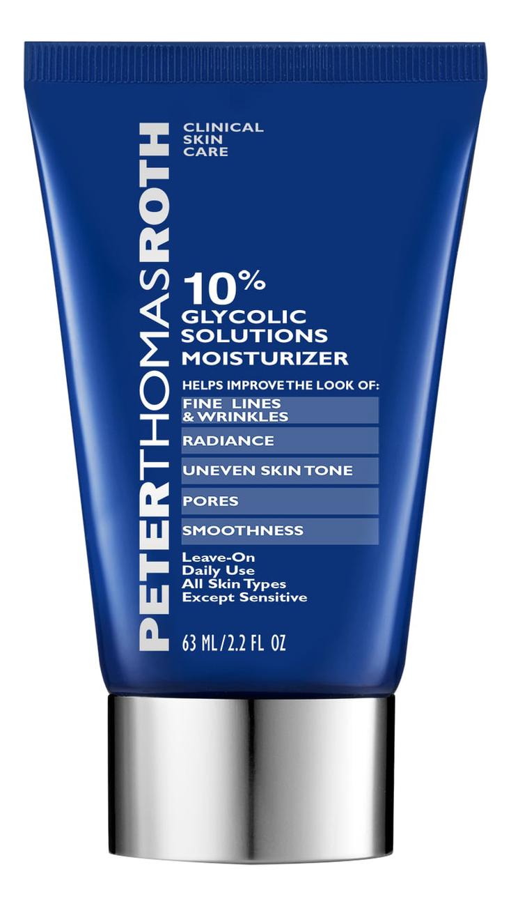 Купить Увлажняющий крем для лица с 10% гликолевой кислотой Glycolic Solutions Moisturizer 63мл, Peter Thomas Roth