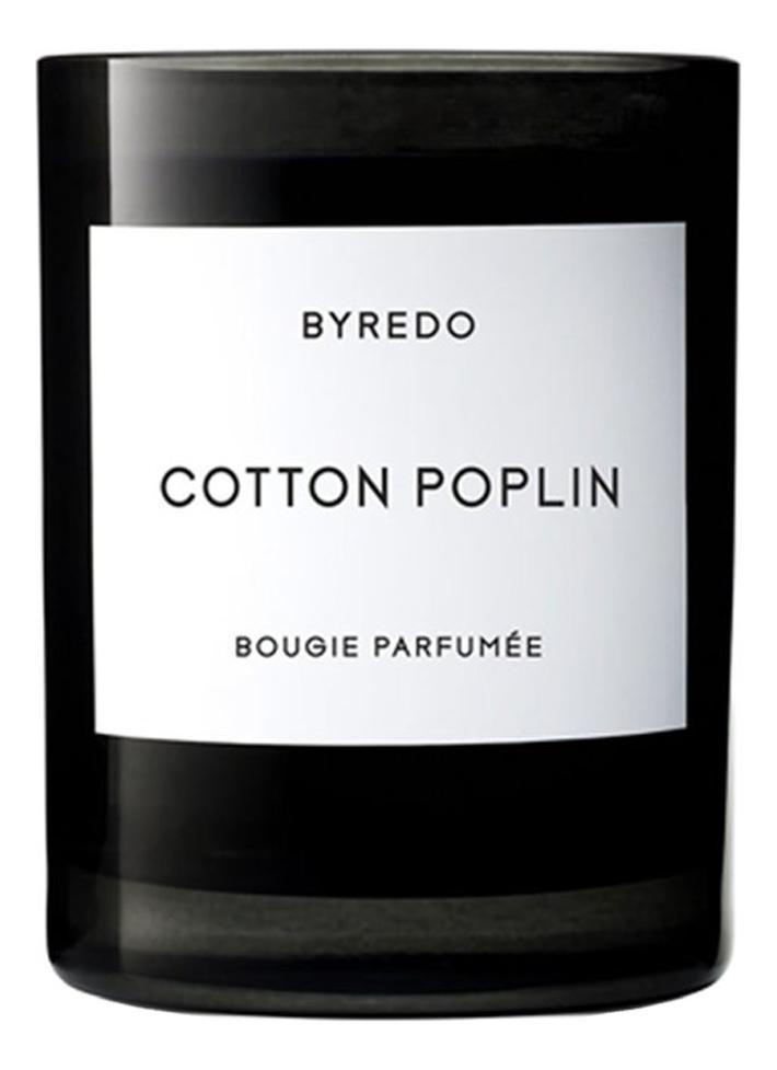 Ароматическая свеча Cotton Poplin: 240г