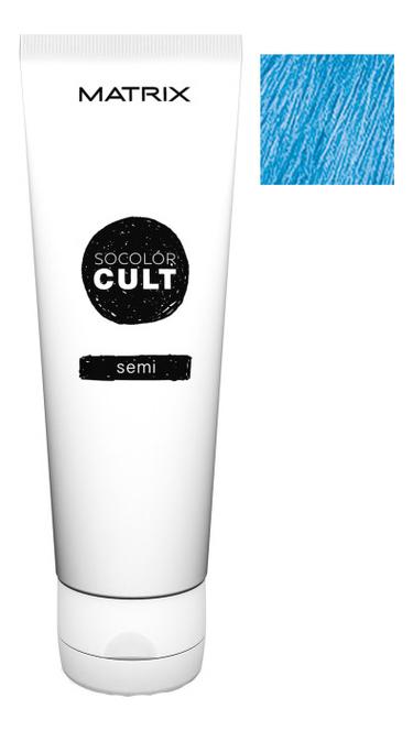 Крем с пигментами прямого действия SoColor Cult Direct Permanent 118мл: Aqua Bay крем с пигментами прямого действия socolor cult direct permanent 118мл lavender macaron