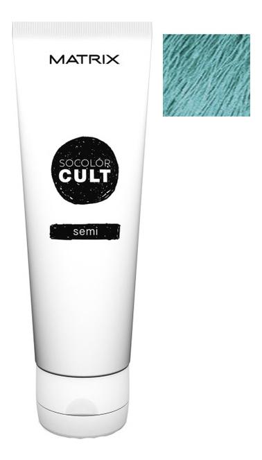 Крем с пигментами прямого действия SoColor Cult Direct Permanent 118мл: Dusty Teal крем с пигментами прямого действия socolor cult direct permanent 118мл lavender macaron