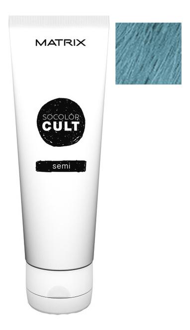 Крем с пигментами прямого действия SoColor Cult Direct Permanent 118мл: Dusty Blue крем с пигментами прямого действия socolor cult direct permanent 118мл lavender macaron