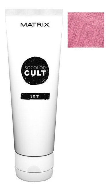 Крем с пигментами прямого действия SoColor Cult Direct Permanent 118мл: Bubblegum Pink крем с пигментами прямого действия socolor cult direct permanent 118мл lavender macaron