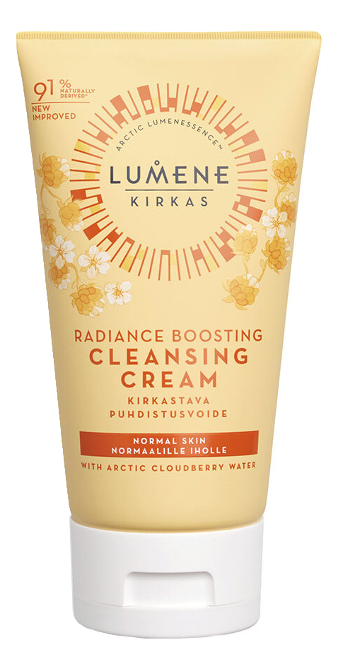 Придающий сияние крем для очищения кожи Kirkas Radiance Boosting Cleansing Cream 150мл lumene herkka soothing cleansing milk