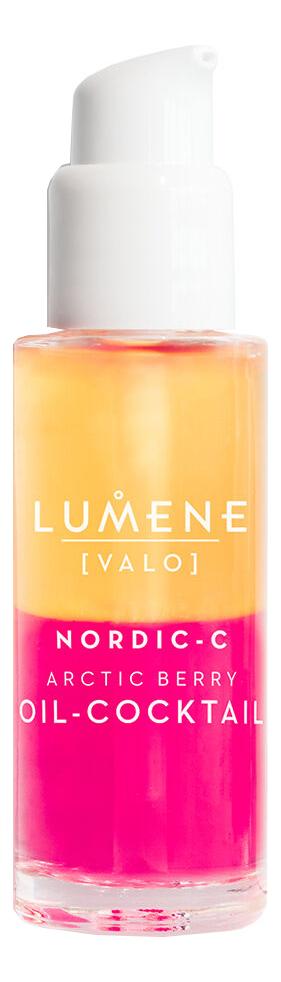 Придающий сияние ягодный коктейль для лица Nordic-C Valo Arctic Berry Oil-Cocktail 30мл набор lumene nordic c valo