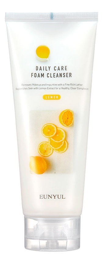 Нежная очищающая пенка для умывания с экстрактом лимона Daily Care Lemon Foam Cleanser 150мл недорого