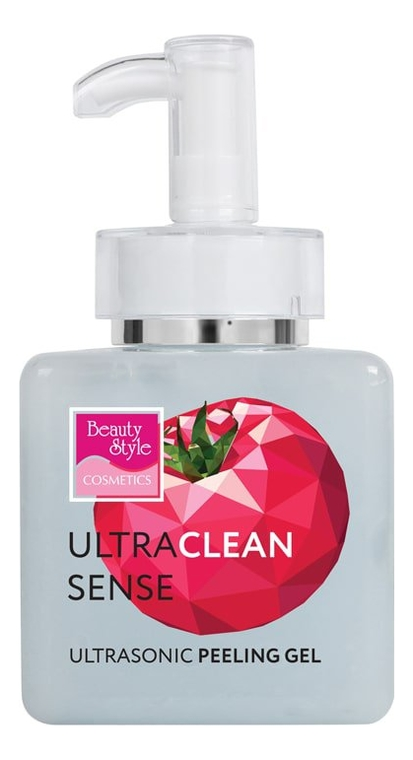Очищающий гель для лица Ultraclean Sense Ultrasonic Peeling Gel: Гель 250мл beauty style гель активный ультраклин контроль ultra clean control cleansing gel 150 мл