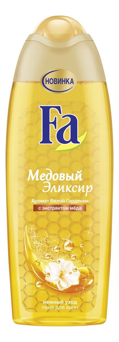 Купить Пена для ванн с ароматом белой гардении Медовый эликсир 500мл, Fa
