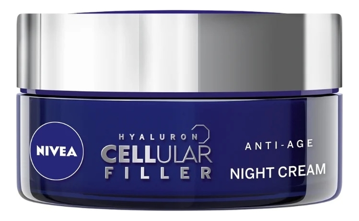 Ночной крем для лица Hyaluron Cellular Filler + Firming Night Cream 50мл крем nivea hyaluron cellular filler ночной 50 мл