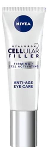 Крем для кожи вокруг глаз Hyaluron Cellular Filler + Firming Anti-Age Eye Cream 15мл крем nivea hyaluron cellular filler ночной 50 мл