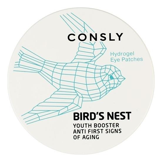 Купить Гидрогелевые патчи для области вокруг глаз Hydrogel Bird's Nest Eye Patches 60шт, Consly