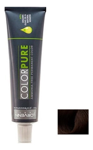 Безаммиачная краска для волос Color Pure 50мл: 5 Light Brown безаммиачная краска для волос матрикс отзывы
