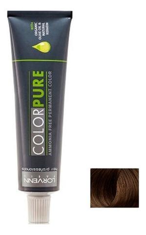 Безаммиачная краска для волос Color Pure 50мл: 5.07 Natural Light Brown Coffee безаммиачная краска для волос матрикс отзывы
