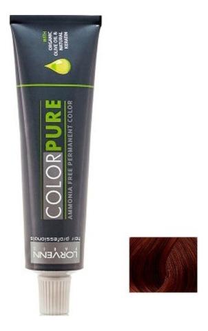 Безаммиачная краска для волос Color Pure 50мл: 6.52 Dark Blond Mahogany Iridescent безаммиачная краска для волос матрикс отзывы