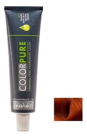 Купить Безаммиачная краска для волос Color Pure 50мл: 7.43 Blond Copper Golden, Lorvenn