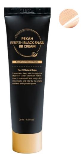 BB крем с муцином черной улитки Rebirth Black Snail Cream 30мл: No 23 бб крем с муцином улитки deoproce intense snail bb no 21 50мл