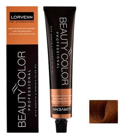 Стойкая крем-краска для волос Beauty Color Professional 70мл: 6.34 Dark Blond Gold Copper