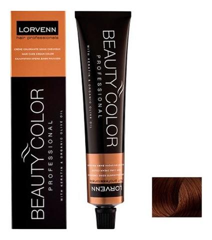 Стойкая крем-краска для волос Beauty Color Professional 70мл: 6.37 Dark Blond Golden Brown