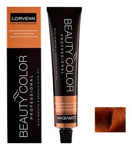 Стойкая крем-краска для волос Beauty Color Professional 70мл: 7.43 Copper Blond Gold
