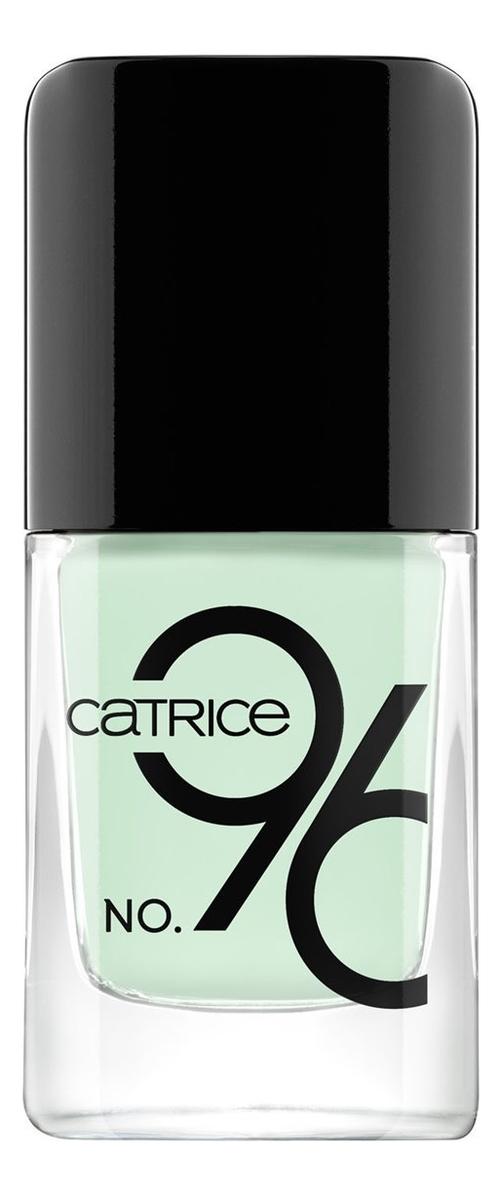 Купить Лак для ногтей IcoNails Gel Lacquer 10, 5мл: 96 Nap Green, Catrice Cosmetics