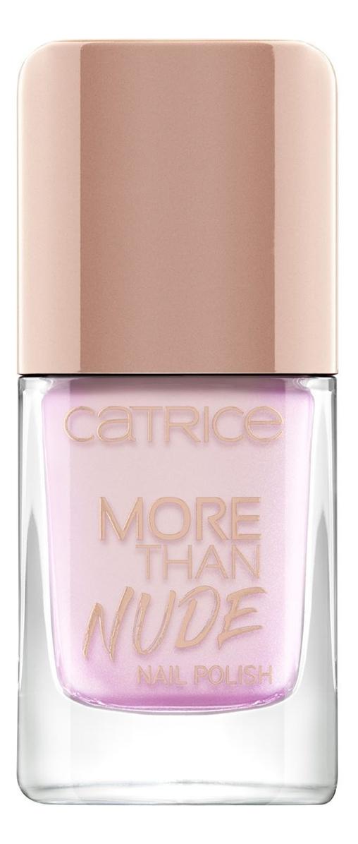 Лак для ногтей More Than Nude Nail Polish 10,5мл: 08 Shine Pink Like A…