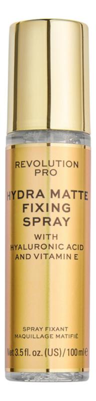 Спрей для фиксации макияжа Hydra-Matte Fixing Spray 100мл фото
