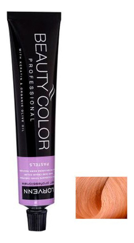 Купить Стойкая крем-краска для волос Beauty Color Professional Pastels 70мл: 9.5/43 Yellow Topaz, Lorvenn