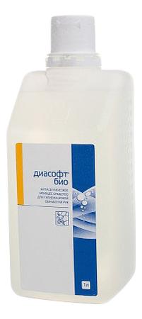Мыло с антибактериальным и дезинфицирующим эффектом Диасофт био: Гель 1л био сок овощной auchan 1л