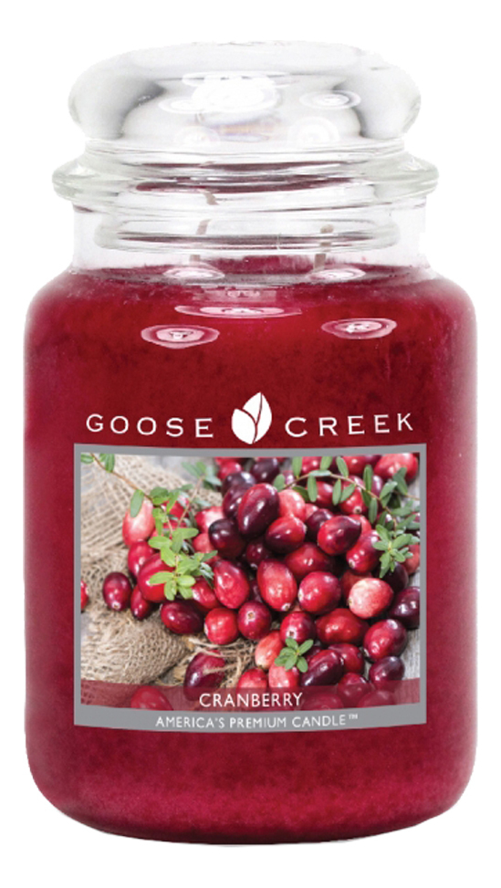 Фото - Ароматическая свеча Cranberry (Клюква): свеча 680г ароматическая свеча lavender vanilla лаванда и ваниль свеча 680г