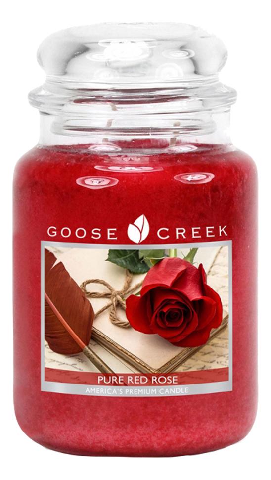 Ароматическая свеча Pure Red Rose (Красная роза): свеча 680г