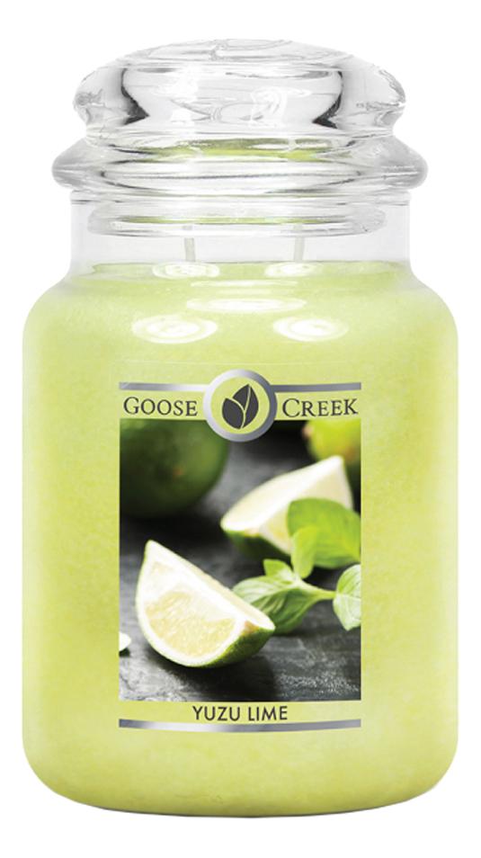 Ароматическая свеча Yuzu Lime (Лимон юзу): свеча 680г лимон taiwan lime