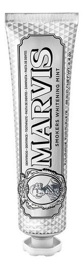 Купить Отбеливающая зубная паста Антитабак Smokers Whitening Mint: Зубная паста 85мл, MARVIS