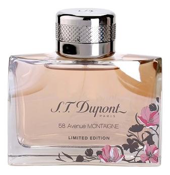 S.T. Dupont 58 Avenue Montaigne Pour Femme Limited Edition: парфюмерная вода 90мл тестер