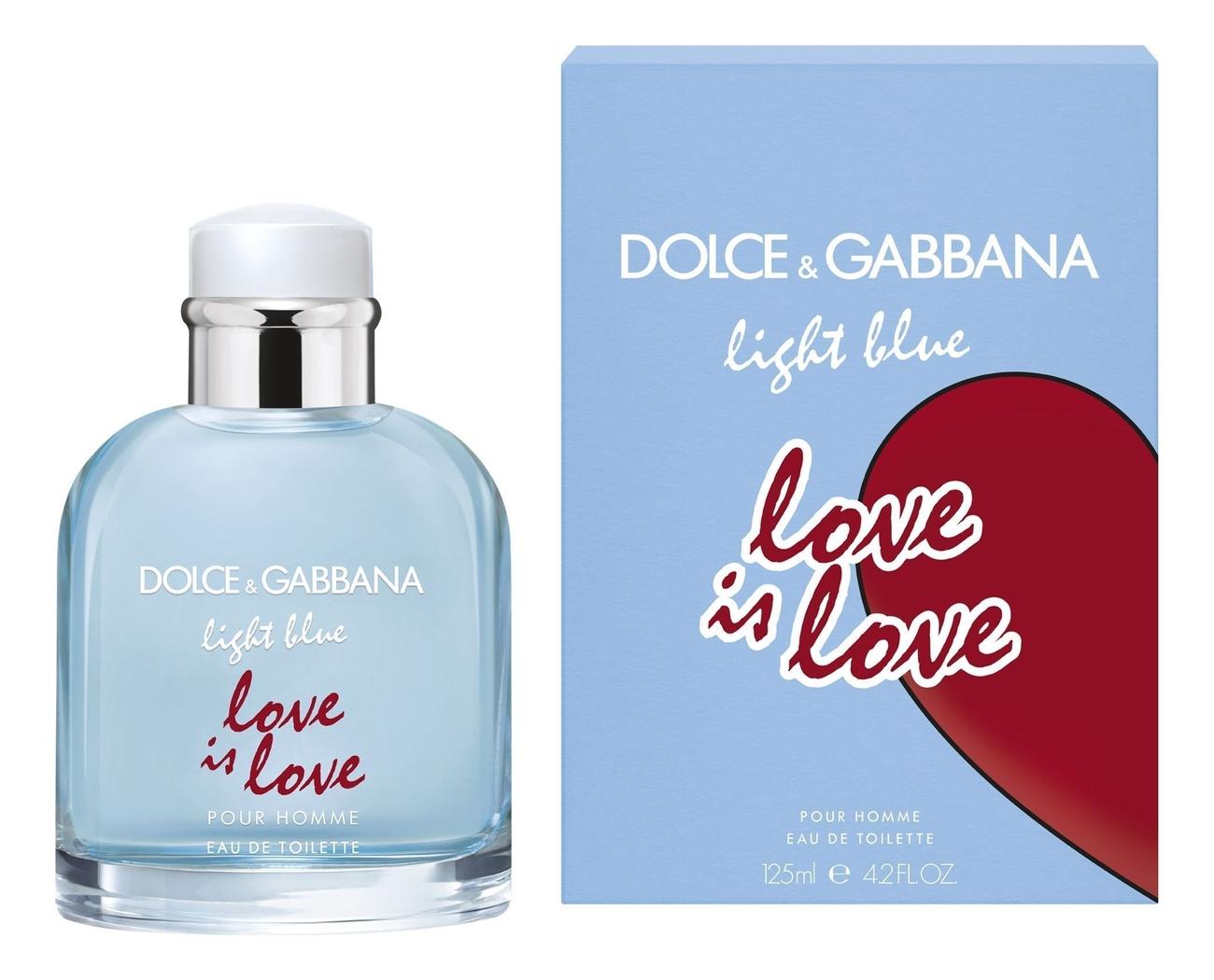 Купить Light Blue Pour Homme Love is Love: туалетная вода 125мл, Dolce & Gabbana