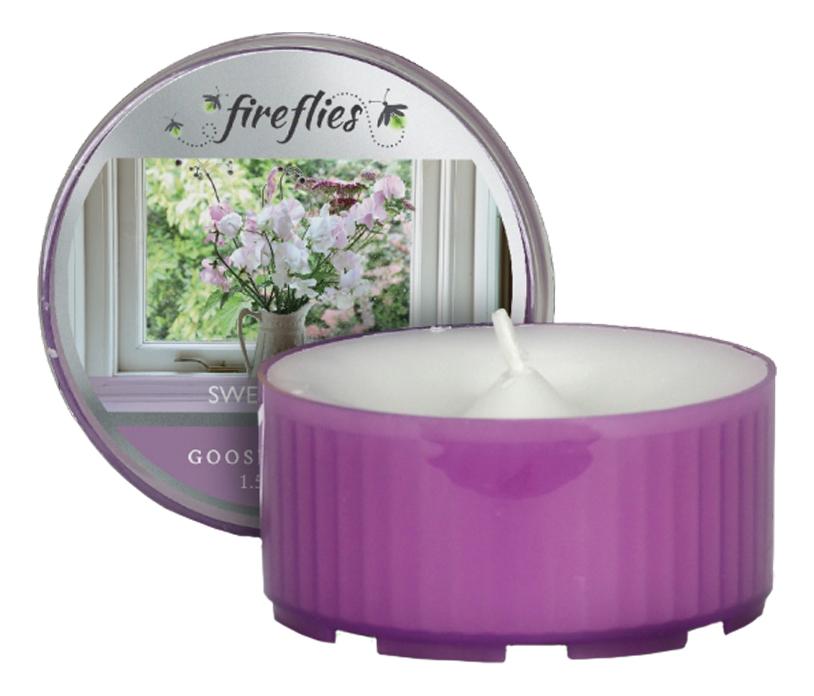 Ароматическая свеча Sweet Petals (Нежные лепестки): свеча в пластиковой гильзе 42г фото