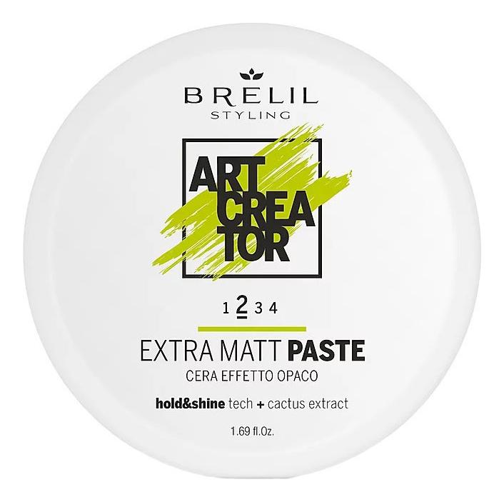Купить Паста для укладки волос с экстраматовым эффектом Art Creator Extra Matt Paste 50мл, Brelil Professional