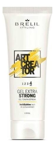 Купить Гель для укладки волос с экстрактом кактуса Art Creator Gel Extra Strong 200мл, Brelil Professional