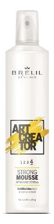 Купить Мусс для укладки волос с экстрактом кактуса Art Creator Strong Mousse 300мл, Brelil Professional